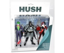 Hush Batman Joker Harley Quinn Action Figure 3-Pack