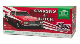 Greenlight Artisan Starsky & Hutch Gran Torino Red Chrome