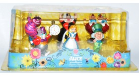 Disney Alice in Wonderland Figurine Playset