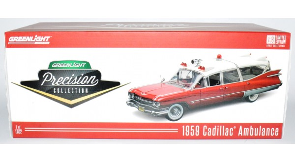 Greenlight Precision Collection 1959 Cadillac Ambulance
