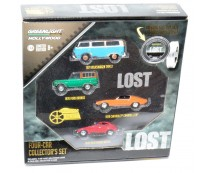 Greenlight Hollywood Lost Four-Car Set Green Machine