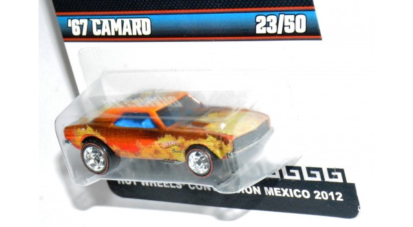 Hot Wheels Limited Edition 2012 Mexico Convention 67 Camaro