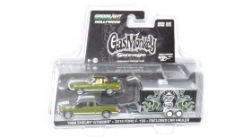 Greenlight Hitch & Tow Gas Monkey Garage Hauler Set