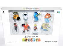 Disney Pixar Mini Figurines 8-Piece Gift Set