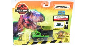 Matchbox The Lost World Jurassic Park Rescue Truck