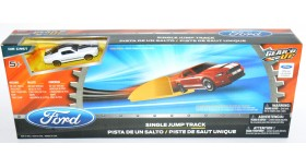 Hot Wheels Ford Single Jump Track Mustang