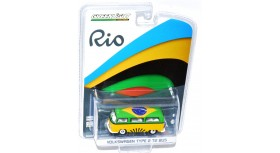Greenlight Rio Brazil Volkswagen Type 2 T2 Bus