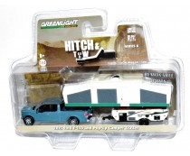 Greenlight Hitch & Tow 2015 Ford F-150 Camper Trailer