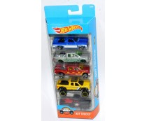 Hot Wheels Hot Trucks 5 Pack Set