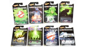2016 Hot Wheels Ghostbusters Complete Set