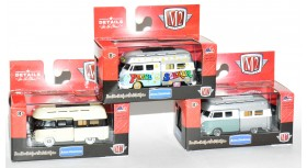 M2 Machines Auto-Thentics 1959 VW Double Cab Set