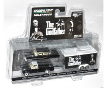 Greenlight The Godfather Cadillac C-10 Trailer Set