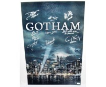 Gotham TV Show Signed by Cast Poster