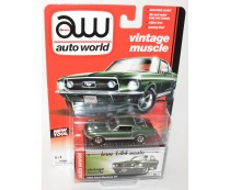 Vintage Muscle 1967 Ford Mustang GT