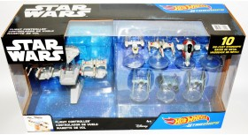 Hot Wheels Star Wars 10 Starships and Flight Controller