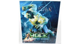 The Incredible Hulk Signed Poster by Mark Ruffallo