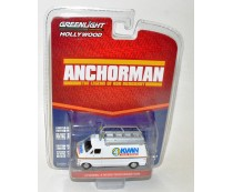 Anchorman Channel 4 News Team Dodge Van