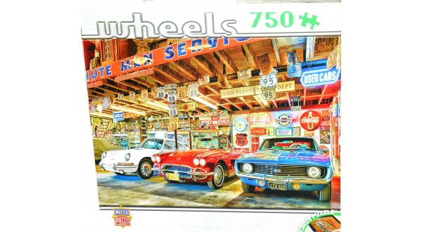 Master Pieces Jigsaw Puzzles Wheels 750