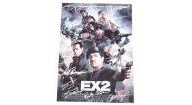 The Expendables 2 EX2  8 X 10 Signed Reprint