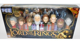 Pez The Lord of The Rings Set