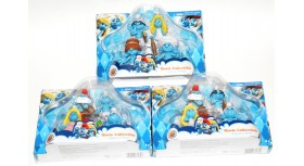 The Smurfs Movie Collectible Figure 4 Pack Lot