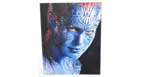 Rebecca Romijn X-Men Mystique Signed Photo