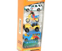 Matchbox Wilderness Road Trip 5 Pack Gift Set