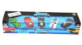 The Original Muscle Machines 5 Cars Set
