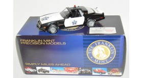 Franklin Mint 1977 Pontiac Trans Am Police Car