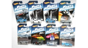 Hot Wheels 2017 Fast & Furious Complete Set