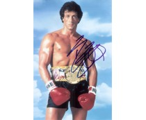 Sylvester Stallone Rocky Signed 8X10 Photo