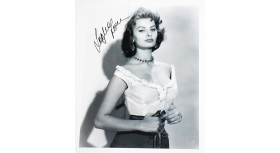 Sofia Loren Signed 8X10 Photo