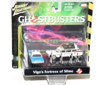 Johnny Lightning Ghostbusters Vigo's Fortress of Slime Diorama