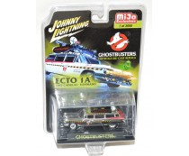 Johnny Lightning Chrome Ghostbusters Ecto 1A Cadillac