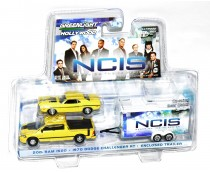 Greenlight NCIS Ram 1500 Challenger Trailer Set