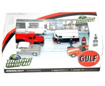 Greenlight Motor World Gulf Set
