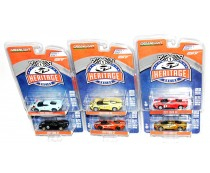 Greenlight Heritage Racing 2017 Ford GT Complete Set