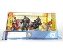 Disney The Black Panther Figurine Playset Set