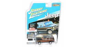 Johnny Lightning Classic Gold 1981 Jeep Wagoneer