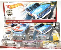 Hot Wheels 2017 RLC Car Culture Premium Boxed Set