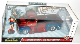 Jada DC Comics Bombshells Wonder Woman 1952 Chevy COE Pickup