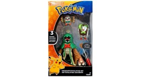 Tomy Pokemon Decidueye Evolution Set