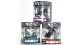 Hot Wheels 3 Batmobile Oil Cans Set