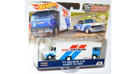 Hot Wheels Team Transport '71 Datsun 510 Fleet Flyer