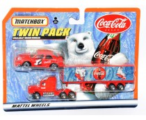 Matchbox Coca-Cola Twin Pack