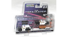 Greenlight The Terminator 1977 Dodge Ramcharger Monaco Flatbed Trailer