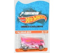 Hot Wheels 2014 Mexico Convention VW Drag Bus Dinner Exclusive