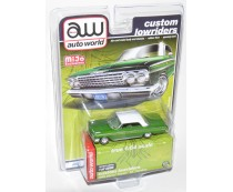 AW Auto World Custom Lowriders 1962 Chevy Impala SS Hardtop