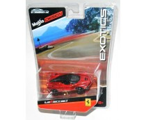Maisto Design Exotics Metallic Red LaFerrari Diecast Convention