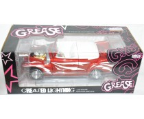 Auto World Silver Screen Grease Greased Lightning 1/18